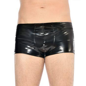 Vinyl Boxer Shorts RAMSAY - Black