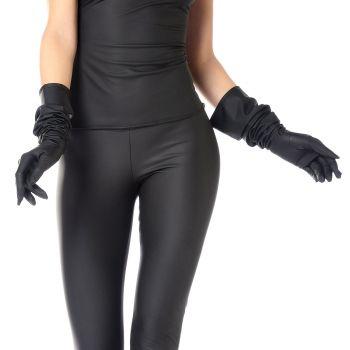 Long Neoprene Gloves - Black*