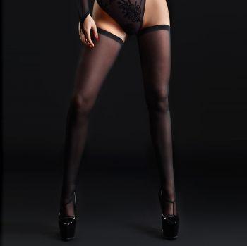 Mesh Stockings - Black