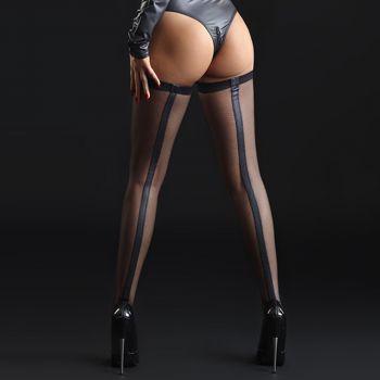 Net Stockings ANGIE - Black