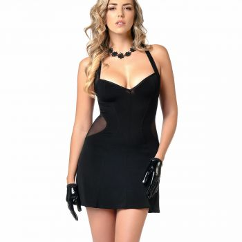 Sleveless Mini Dress PENNY - Black