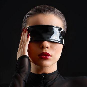 Vinyl Blindfold - Black