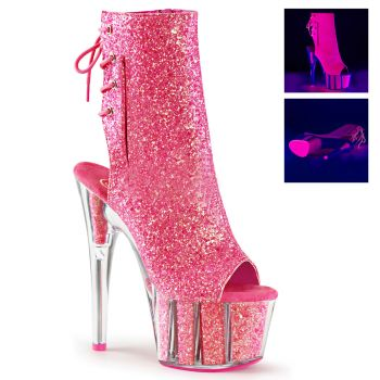 Platform Ankle Boots ADORE-1018G - Pink
