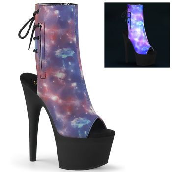 Platform Ankle Boots ADORE-1018REFL - Galaxy
