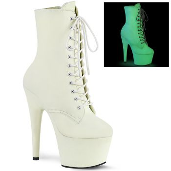 Platform Ankle Boots ADORE-1020GD - White Glow
