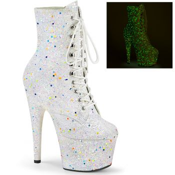 Platform Ankle Boots ADORE-1020GDLG - White
