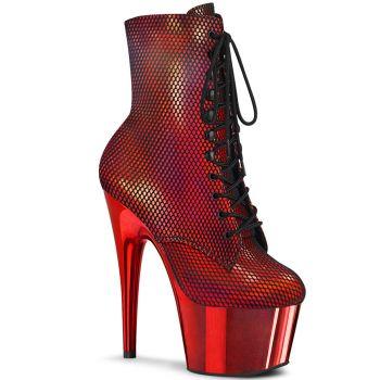 Platform Heels ADORE-1020HFN - Mesh Red