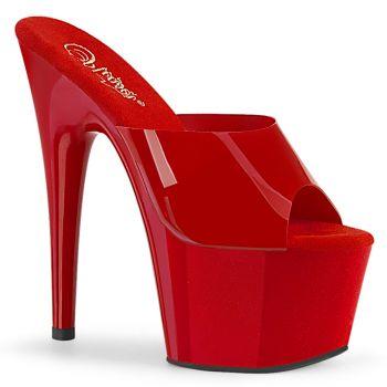 Platform High Heels ADORE-701N - TPU Red