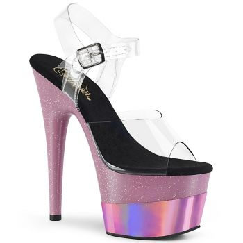 Platform High Heels ADORE-708-2HGM - Baby Pink