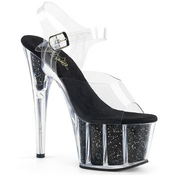 Platform High-Heeled Sandal ADORE-708G - Black