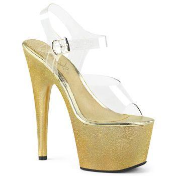 Platform High Heels ADORE-708HG - Gold