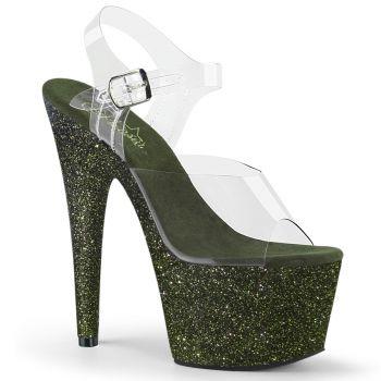 Platform High Heels ADORE-708HMG - Dark Green*