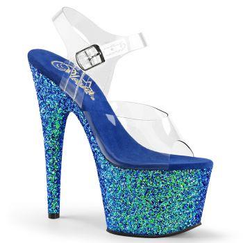 Platform High Heels ADORE-708LG - Blue