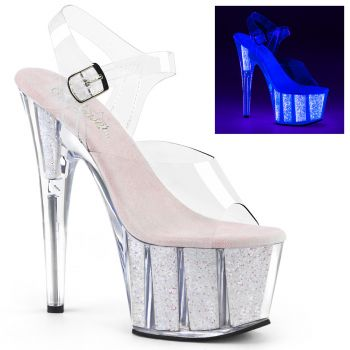 Plateau High Heels ADORE-708UVG - Neon Opal