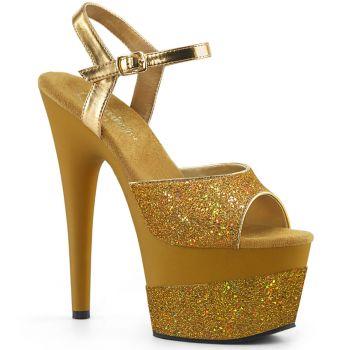 Platform High Heels ADORE-709-2G - Golden