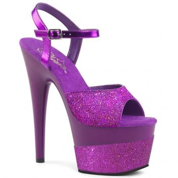 Platform High Heels ADORE-709-2G - Purple