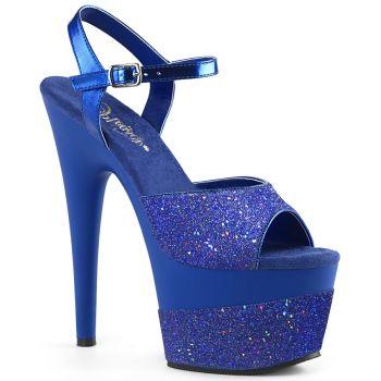 Platform High Heels ADORE-709-2G - Blue