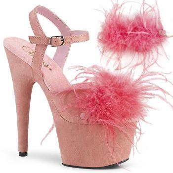 Platform High Heels ADORE-709F - Baby Pink