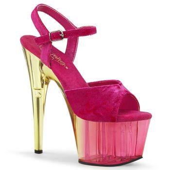 Platform High-Heeled Sandal ADORE-709MCT - Pink