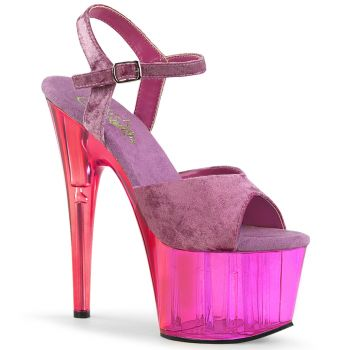 Platform High-Heeled Sandal ADORE-709MCT - Purple
