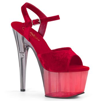 Platform High-Heeled Sandal ADORE-709MCT - Red