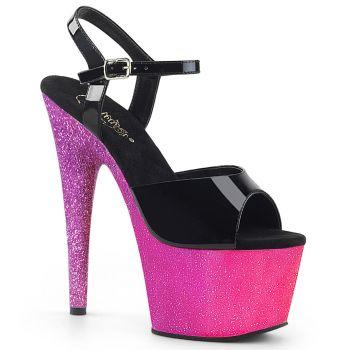 Platform High Heels ADORE-709OMBRE - Pink/Lavender