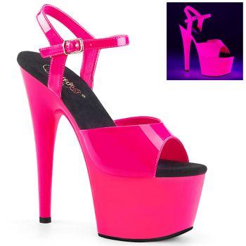 Plateau High Heels ADORE-709UV - Neon Pink