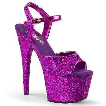 Platform High Heels ADORE-710LG - Purple