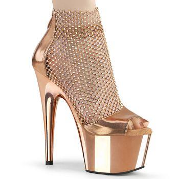 Platform Heels ADORE-765RM - Rose Gold/Chrome