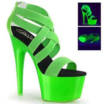 Platform High Heels ADORE-769UV - Neon Green