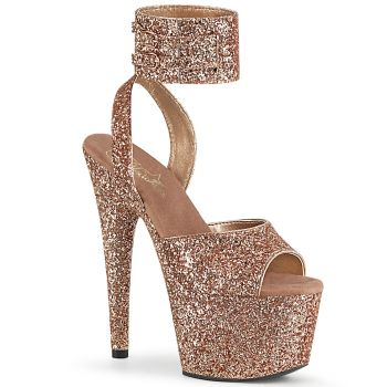 Platform High Heels ADORE-791LG - Rose Gold