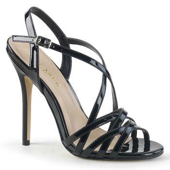 High-Heeled Sandal AMUSE-13 - Black