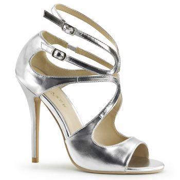 Sandal AMUSE-15 - Silver metallic