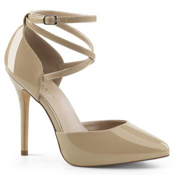 Pumps AMUSE-25 - Patent Cream