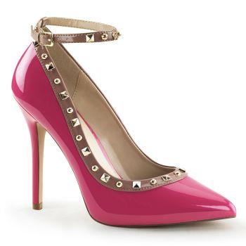 Pumps AMUSE-28 - Patent Hot Pink