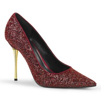 Stiletto Pumps APPEAL-20G - Glitter Burgundy
