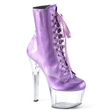 Platform Ankle Boots ASPIRE-1020BHG - Lavender (Vegan)