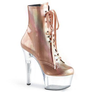 Platform Ankle Boots ASPIRE-1020BHG - Rose Gold (Vegan)