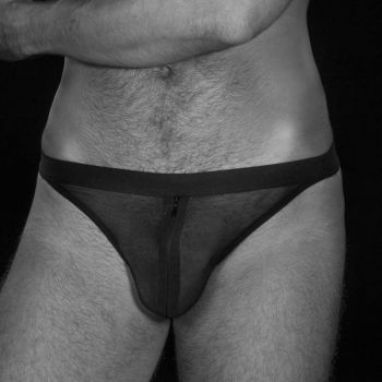 Mesh G-String DAMON - Black