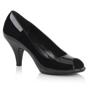 Peep Toes BELLE-362 - Patent Black
