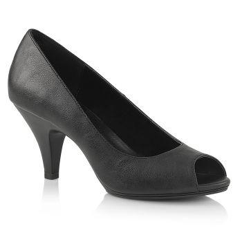 Peep Toes BELLE-362 - PU Black