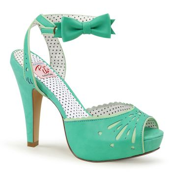 High-Heeled Sandal BETTIE-01 - Mint