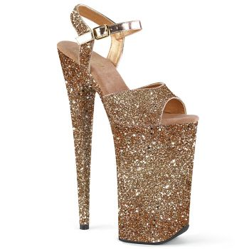 Extreme Platform Heels BEYOND-010LG - Rose Gold