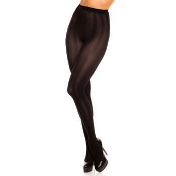 Opaque Tights RIVER 70 - Black