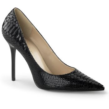 Stiletto Pumps CLASSIQUE-20SP - Leather Black