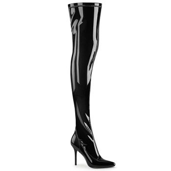 Overknee Boots CLASSIQUE-3000 - Patent Black*