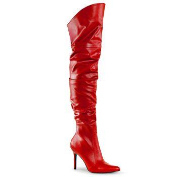 Overknee Boots CLASSIQUE-3011 - Red