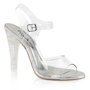 Sandalette CLEARLY-408MG - Klar*