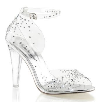 Peeptoes CLEARLY-430RS - Clear