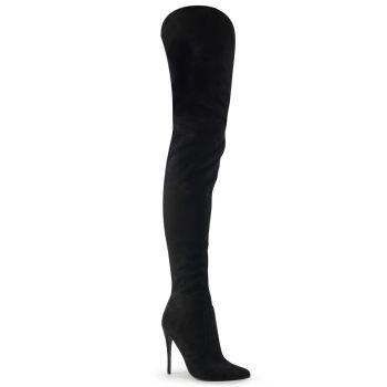 Overknee Boot COURTLY-3017 - Black